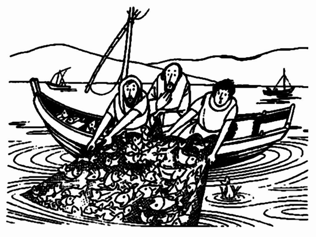1024x768 Fisherman Drawing Bible For Free Download