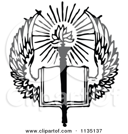 450x470 Bible Clipart Black And White