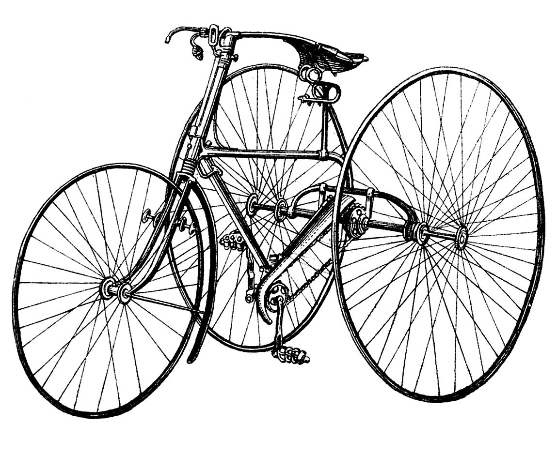 Bicycle Drawing Images