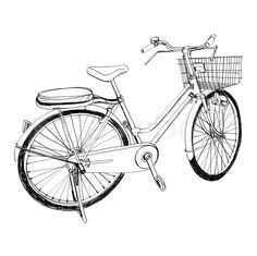 236x235 awesome bicycle sketches images bicycle illustration, bicycle