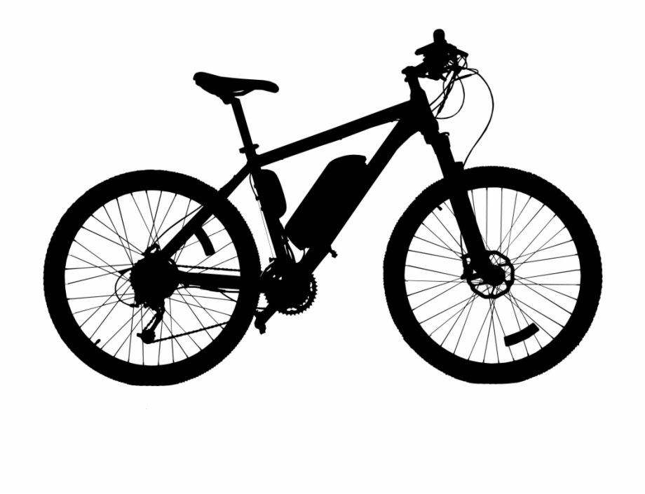 920x705 High Quality Bicycle Silhouette