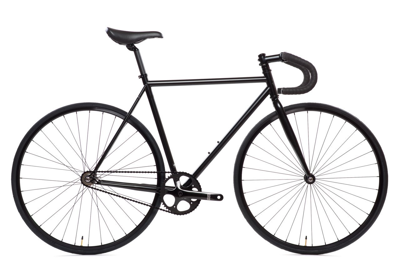 1280x854 Matte Black Bicycle Fixie Fixed Gear Bikes State Bicycle Co