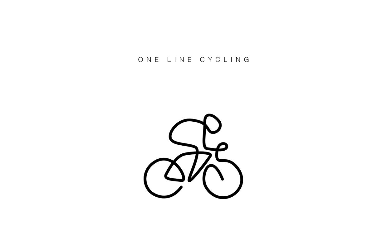 1240x797 One Line Icons Tatuajes Bicicletas, Arte De Ciclismo