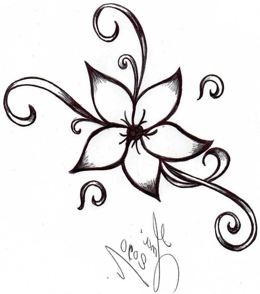841x949 drawing designs easy easy designs to draw big flower designs