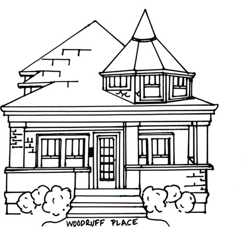 Big House Drawing