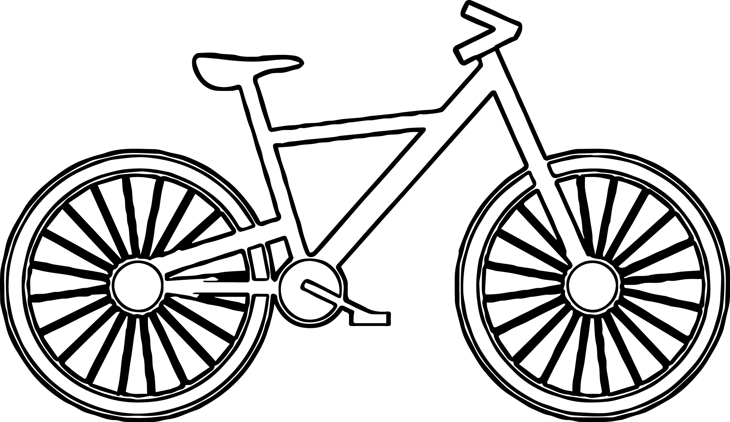 2328x1346 Cartoon Bike Free Download Clip Art