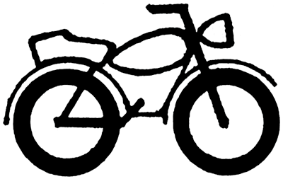 400x253 Drawing Motorcycle Simple Transparent Png Clipart Free Download