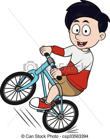 373x470 boy riding bike clipart boy riding bicycle cartoon illustra