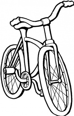 260x405 Bike Drawing Images For Kids
