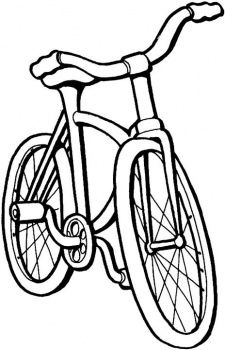 225x350 Bike For Kids Printables Coloring Sheets, Coloring Pages