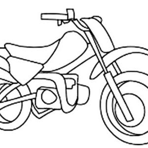 300x300 Dirt Bike Coloring Pages Beautiful Stock Drawings Hardcoloring