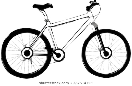 429x280 Huge Collection Of 'bicycle Drawing' Download More Than Images