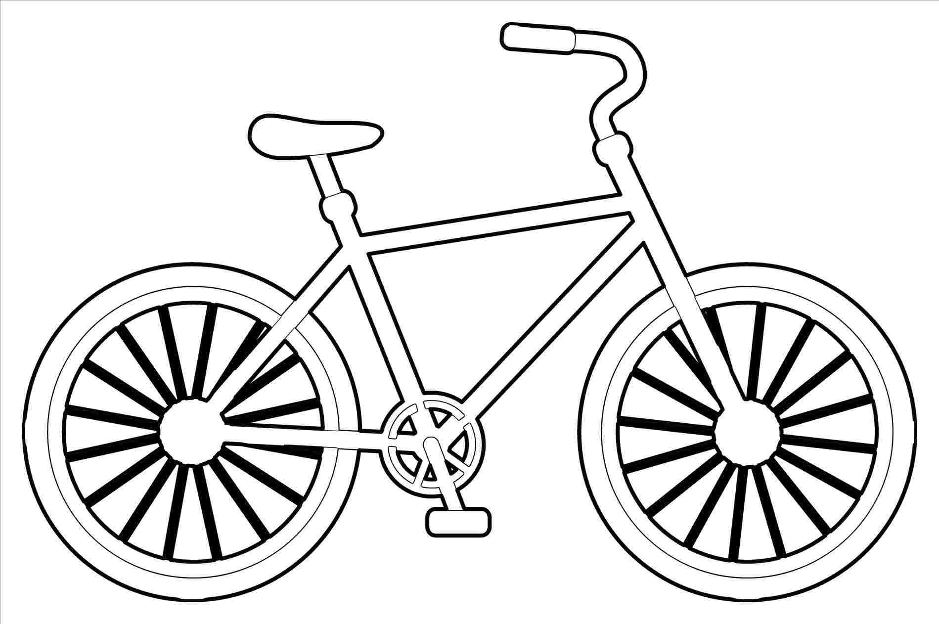 1899x1262 Huge Collection Of 'bike Drawing' Download More Than Images