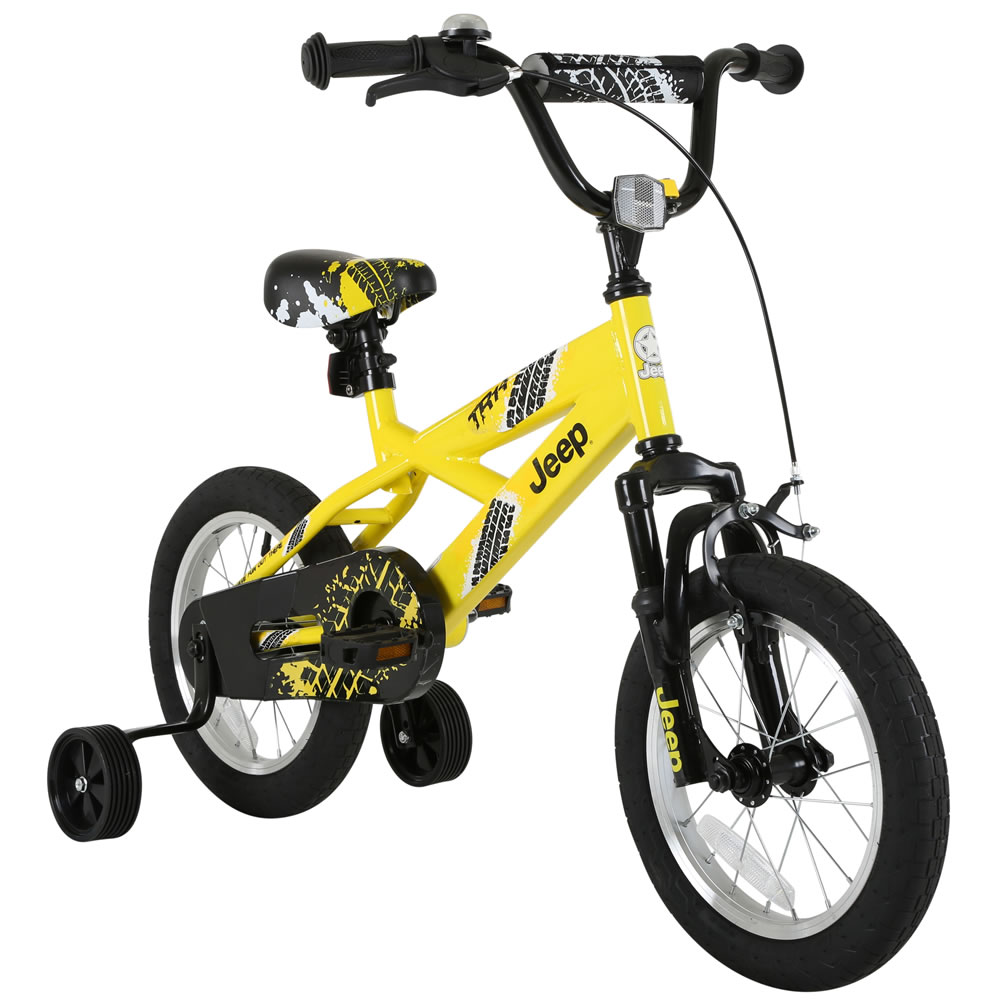 1000x1000 Jeep Kids Yellow Bmx Bike Wilko