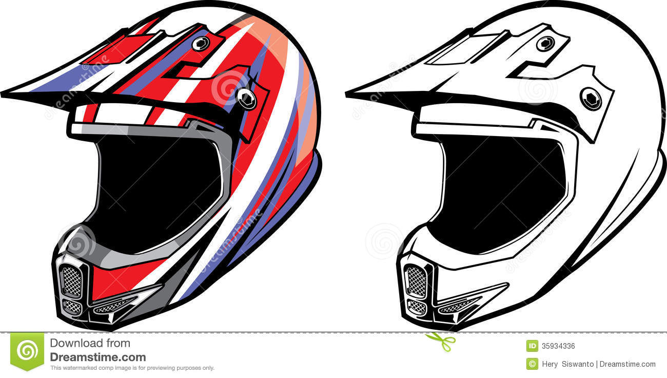 Bike Helmet Drawing
