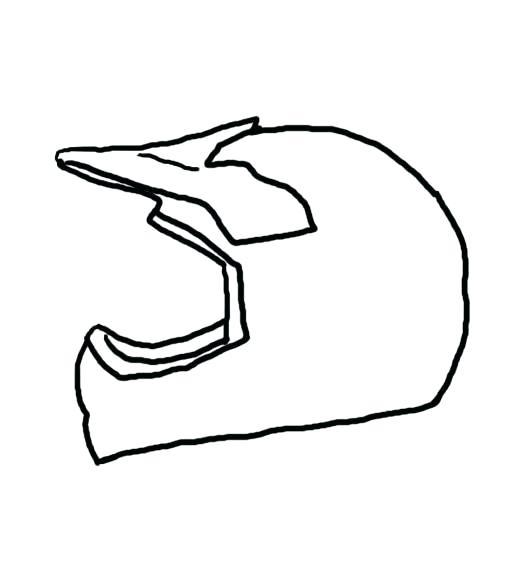 520x564 Bike Drawing Simple Simple Motorbike Drawing