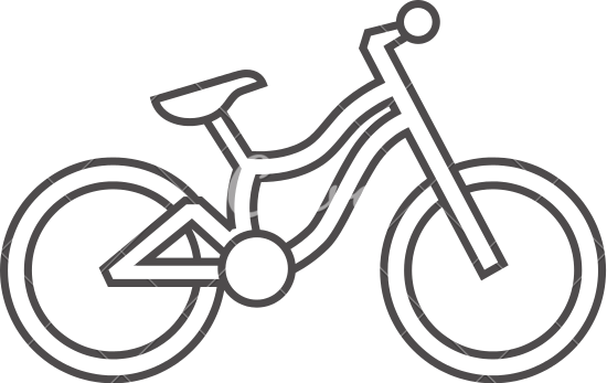 550x347 Collection Of Free Bicycle Drawing Outline Download On Ui Ex