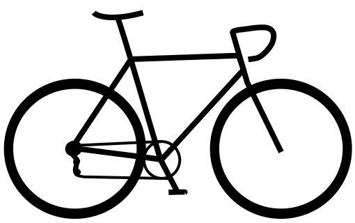 510x320 Drawn Bike Line