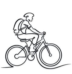 236x244 Best Bike Drawings Images Veils, Bicycle Art, Cycling Art