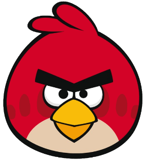 287x315 How To Draw Angry Birds Feltmagnet