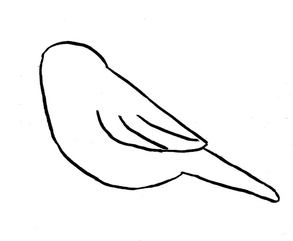 1024x843 Simple Pictures Of Birds To Draw