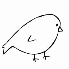 225x225 Easy Bird Sketch Beautiful Bird Drawing Simple Idas Ponderresearch