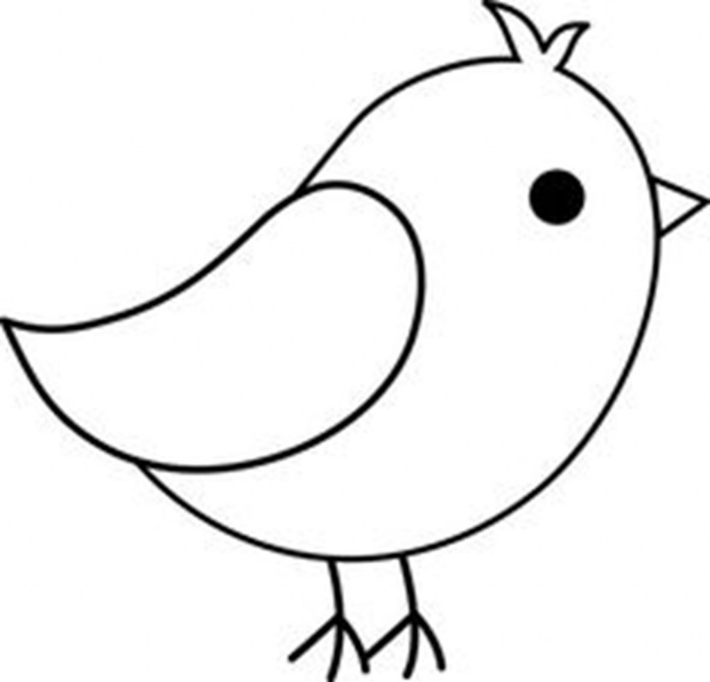 1024x985 Easy Drawings Of Birds With Colour