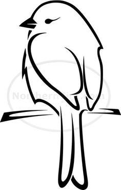 236x370 Best Bird Line Drawing Images Birds, Drawings, Bird Drawings