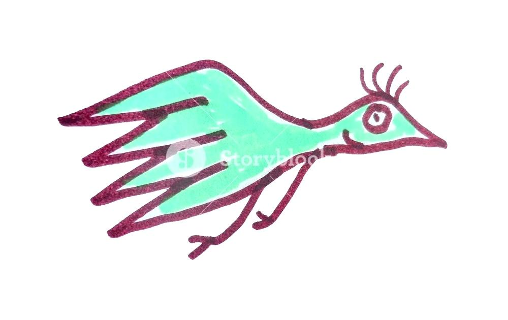 1000x630 How To Draw A Flying Bird For Kids