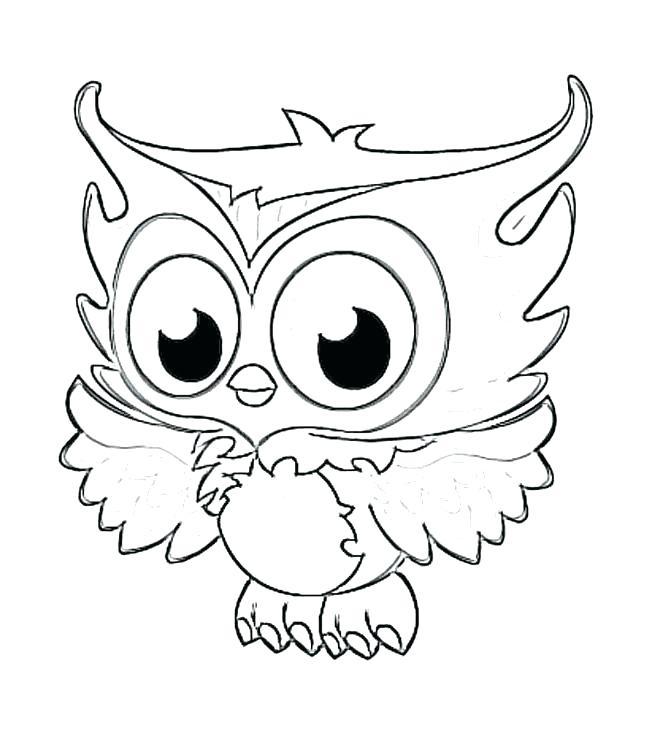 650x737 Bird Drawing Template
