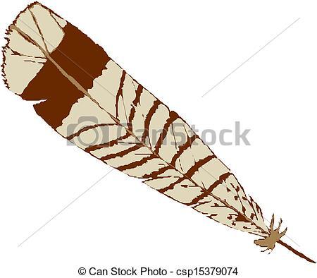 450x394 Vector Illustration Bird Feather