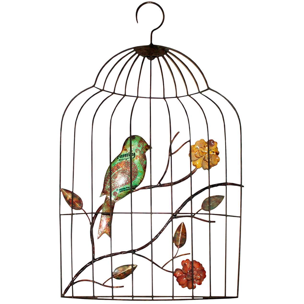 Bird In A Cage Drawing