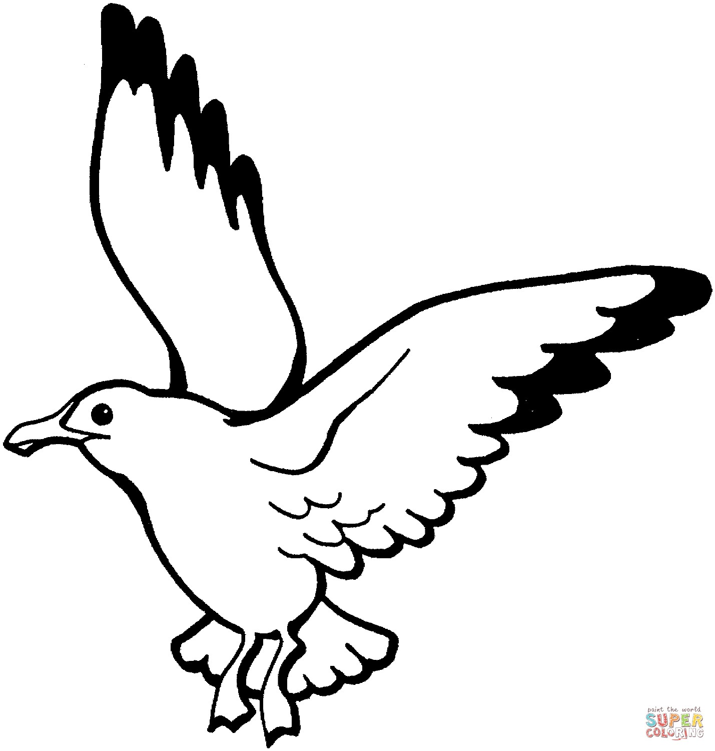 1429x1500 coloring flying bird refrence flying bird line drawing