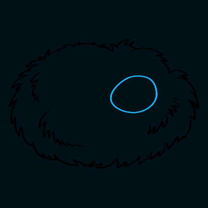 680x678 How To Draw A Bird Nest