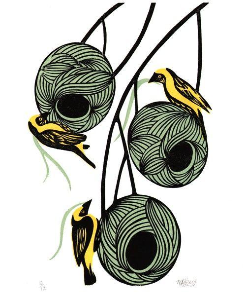 500x600 Weaver Bird Nests