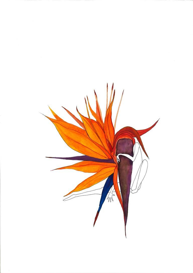 770x1089 Les Oiseaux Se Cachent Pour Mourir Drawing