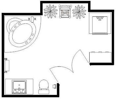 395x337 master bath bathroom floor plans bathroom, bathroom floor