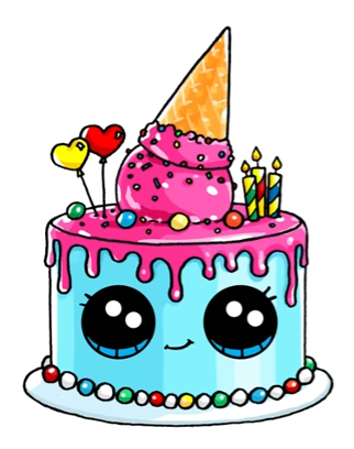 How To Draw A Birthday Cake.Birthday Cake Drawing Images Free Download Best Birthday