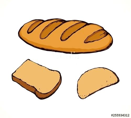 500x449 loaf of bread drawing cartoon loaf of bread loaf bread drawing