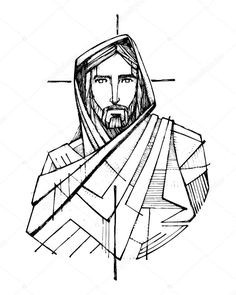 236x295 jesus christ drawing sketch inspirational best jesus christ