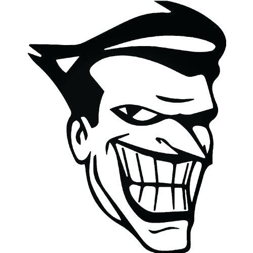 500x500 Joker Face Drawing How To Draw The Joker Face