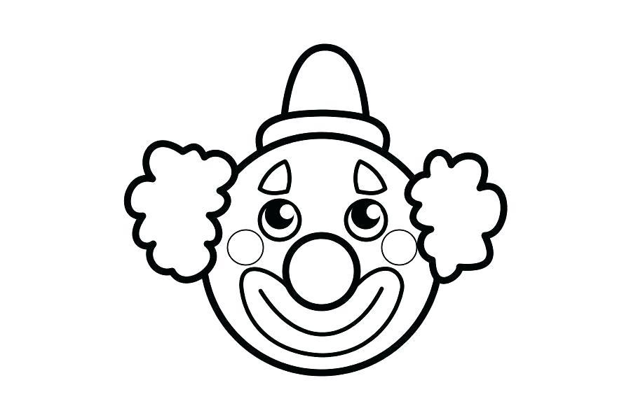 900x600 Clowns Drawing Clown Clown Face Drawing Step
