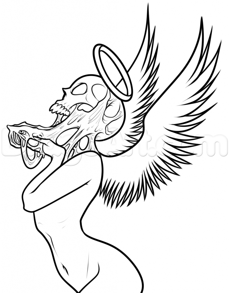 Black angel drawings free download best black angel