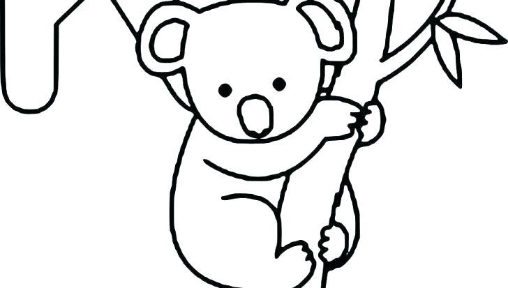 728x413 koala outline baby koala bear black bear outline koala outline