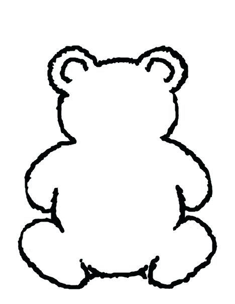 468x605 bear outline build a bear craft embracing the good life black bear
