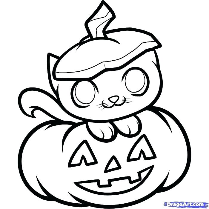 700x700 Halloween Drawing Ideas Black Cat Drawing Ideas For Kids Simple