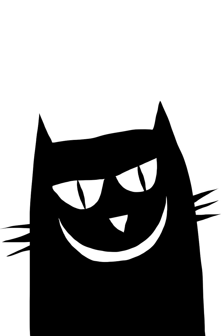 853x1280 Cat, Vector, Clipart, Figure, Animals