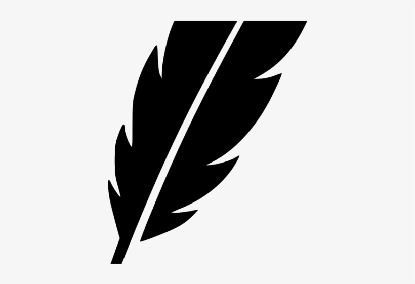 820x561 Ink Clipart Feather Drawing