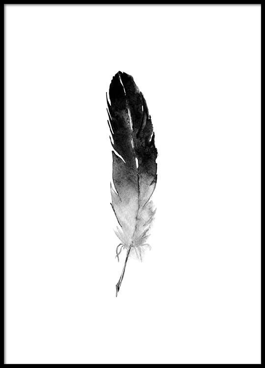 540x750 Beautiful Poster With Feather