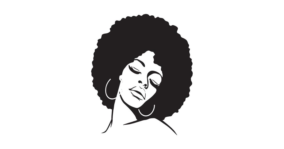 1200x630 Afro Diva Black Girl Magic Shirt Gold Lips Natural Melanin Music T